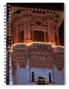 Night Tower Spiral Notebook