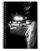 Night Traffic Stop Three Spiral Notebook