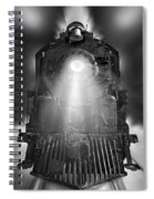 Night Train On The Move Spiral Notebook