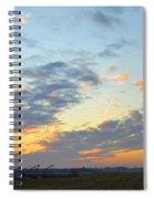 Nightfall Spiral Notebook