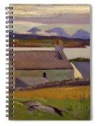 Nightfall  Iona Spiral Notebook