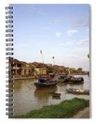 Nightfall Over Hoi An Spiral Notebook