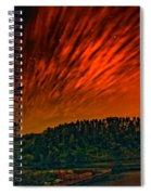Nightfire Spiral Notebook