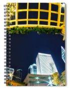 Nightlife Around Charlotte Spiral Notebook