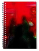 Nightlife  Spiral Notebook