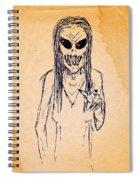 Nightmare Sketch Spiral Notebook