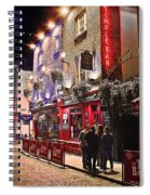 Nights In The Temple Bar Spiral Notebook