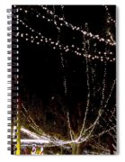 Nights Of Lights Spiral Notebook