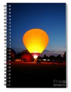 Night's Sunshine Spiral Notebook