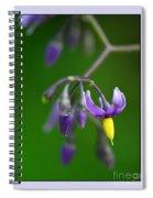 Nightshade Spiral Notebook