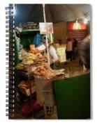 Nighttime Vendor Spiral Notebook