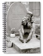 Nijinsky In Paris Spiral Notebook