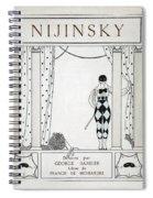 Nijinsky Title Page Spiral Notebook