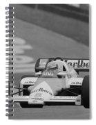 Niki Lauda. 1984 British Grand Prix Spiral Notebook