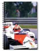 Niki Lauda. 1985 Portuguese Grand Prix Spiral Notebook