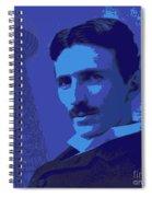 Nikola Tesla #2 Spiral Notebook