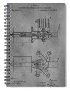 Nikola Tesla's Patent Spiral Notebook