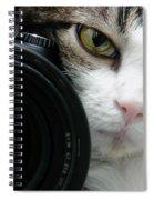 Nikon Kitty Spiral Notebook