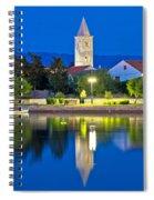 Nin Coast Evening Reflections View Spiral Notebook