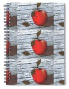 Nine Apples Spiral Notebook