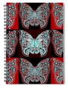 Nine Lives - Variation 1 Spiral Notebook