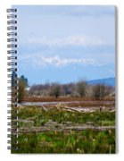 Nisqually Delta Of The Nisqually National Wildlife Refuge Spiral Notebook