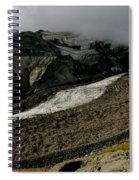 Nisqually Glacier Spiral Notebook