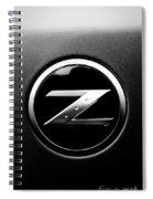 Nissan Z Spiral Notebook