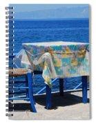 Nisyros Taverna Spiral Notebook