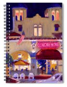 Nite At The Colony Spiral Notebook