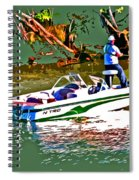 Nitro Bass Boats Spiral Notebook