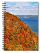 N.j. Palisades Awesome Autumn  Spiral Notebook