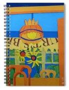 Nj Sunflowers Spiral Notebook