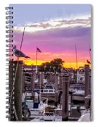 Nj's Sunset Spiral Notebook
