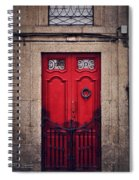 No. 24 - The Red Door Spiral Notebook