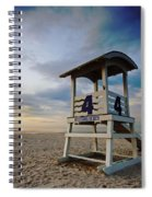 No 4 Lifeguard Station Spiral Notebook