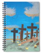 No Cross No Crown 1 Spiral Notebook