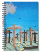 No Cross No Crown 2 Spiral Notebook