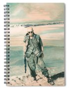 No Day At The Beach Spiral Notebook