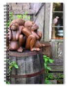 No Evil Spiral Notebook