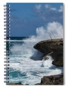 No Fishermen - Fun Sport At Laie Point Oahu North Shore Hawaii Spiral Notebook