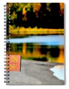 No Fishing II Spiral Notebook