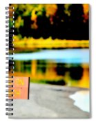 No Fishing On Swim Beach I Spiral Notebook