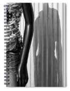 No Head For Fashion Spiral Notebook