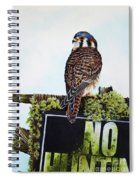 No Hunting Spiral Notebook