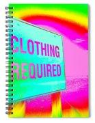 No Nudes Spiral Notebook