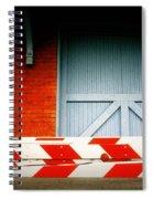 No Passage Spiral Notebook