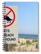 No Pets Spiral Notebook