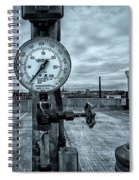 No Pressure Or The Valve At The Top Of The City  Spiral Notebook