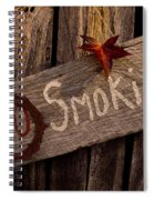 No Smokin Spiral Notebook
